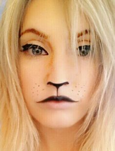 Power of make-up (Lion)  inspired