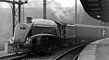 The Flying Scotsman hauled by 4488 Union of South Africa at King's ...