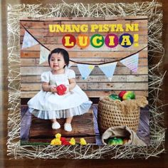 Lucia's Pista sa Nayon Themed Party – Birthday 1st Birthday Themes, 1st Boy Birthday, First Birthday Parties, Fiesta Theme Party, Twins 1st Birthdays, Party Invitations Kids, Paskong Pinoy, Filipino Culture, Themed Parties