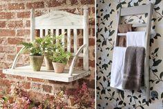 Blog de reciclaje artesanal y decoración creativa Ideas Para, Ladder Decor, Crafts, Home Decor, Blog, Second Life, Home, Creative Decor, Creativity