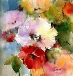 Summer Flowers 2 by Anna Razumovskaia