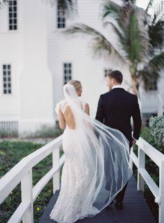Jessica Lorren Photography Hillsboro Beach Club Wedding Veil South Florida Wedding Photographer Beach Wedding