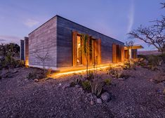 Cherem Arquitectos builds rammed-earth house in Mexican highlands, with living areas arranged around courtyards