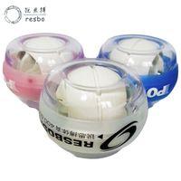 RESBO 30LBS LED Mini Power Wrist ball Luminous Forearm Gyroscope Gyro Ball Exerciser Wrist ball for Kids Women Muscle Relax  T