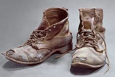 Steel Toed Boots No. 4, 1973. Marilyn Levine (1935-2005). Ceramic sculpture.