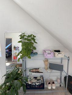 Room Ideas Bedroom, Bedroom Inspo, Bedroom Decor, Dream Rooms, Dream Bedroom, Deco Studio, Uni Room, Pretty Room, Aesthetic Room Decor