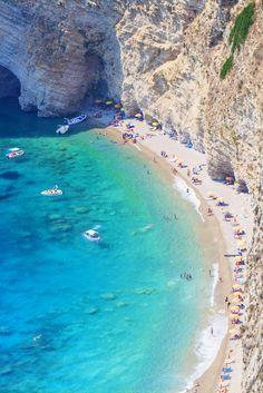 Chomoi Beach, Corfu, Greece ♡