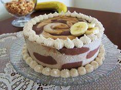 ...Fragrant Vanilla Cake: Vegan Peanut Butter Chocolate Banana Cheesecake on We Heart It