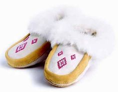 Assiniboine Moccasins by Manitobah Mukluks.