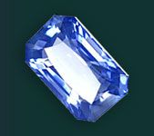 Septembers gem is the sapphire