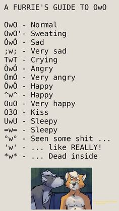 I find this guide quite useful OwU