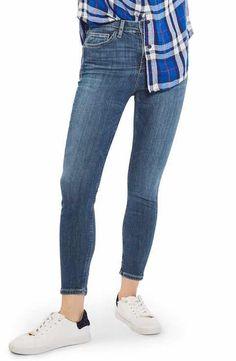 Topshop Jamie High Waist Skinny Jeans (Petite)