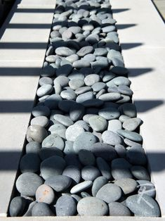 river rocks --- Modern Landscape Design, Pictures, Remodel, Decor and Ideas - page 19
