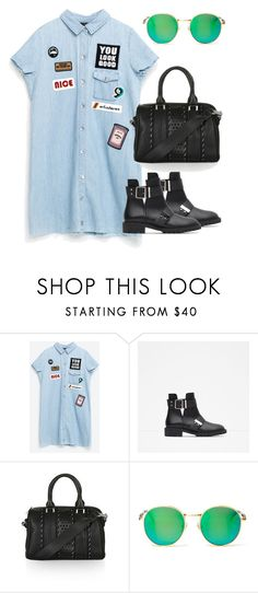 """Sin título #307"" by franciscagomezm on Polyvore featuring moda, Zara, Topshop y Wildfox"