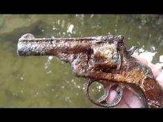 CRIME SCENE?! Bloodied GUN Found Metal Detecting