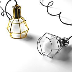 Design House Stockholm Form Us With Love Silver Work Lamp