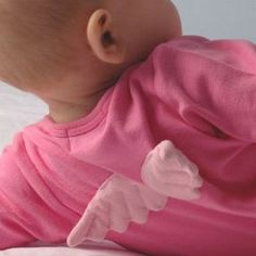The Baby Angel babygrow has been one of their best-sellers since they launched BODIE and FOU