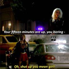 """""""Recordar que esta noche se emite el episodio 1x05 de #Supergirl #Livewire"""""""
