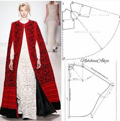 Amazing Sewing Patterns Clone Your Clothes Ideas. Enchanting Sewing Patterns Clone Your Clothes Ideas. Fashion Sewing, Diy Fashion, Ideias Fashion, Dress Sewing Patterns, Clothing Patterns, Abaya Style, Sewing Clothes, Diy Clothes, Abaya Mode