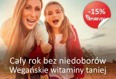 Zapraszamy po jesienne B12 + D3 ze zniżką >> www.pureveg.pl #weganskiewitaminy #weganskab12 #weganskametylokobalamina #weganskied3