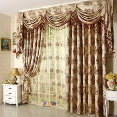 Top Interesting Design Valances for Bedroom : Bedroom Curtains And Valances. Bedroom curtains and valances. more window treatments ideas Hanging Curtains, Curtain Styles, Curtains, Drapes Curtains, Valance, Curtains Bedroom, Curtain Designs, Home Decor, How To Make Curtains