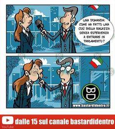 Per giocare con questa vignetta: ✔️Visita www.youtube.com/bastardidentro. ✔️Iscriviti al canale. ✔️Cerca l'oggetto… www.bastardidentro.it