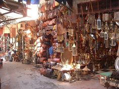 The Souks of Marrakech are Among the Best in Morocco - Marrakech, Morocco by whl.travel, via Flickr