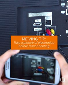 Make your move easier with this simple trick: take a picture of your electronics before you disconnect them for the move. It'll be easier to reconnect everything if you know where the cords go. Click to see even more great tips to make your move as seamless as possible.