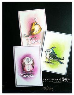 More bird crazy inspiration for handmade cards