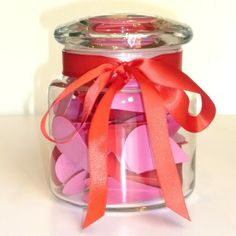 DIY Love Notes Jar You Personalize by SentimentsShoppe on Etsy, $18.00