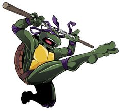 Leonardo...he leads. Drawn for coloring purposes. Although, I'm not real keen on this pose.