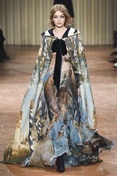 Gigi Hadid | Alberta Ferretti Autumn/Winter 2017 Ready-to-wear Collection | British Vogue