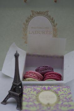 Laduree treats from a Paris stop over
