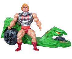 Battle Armor He-Man with Road Ripper