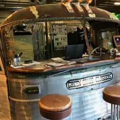 Convert Your Garage into a Man Cave - Man Cave Home Bar Man Cave Desk, Man Cave Art, Man Cave Home Bar, Garage Furniture, Car Part Furniture, Man Cave Basement, Man Cave Garage, Garage Loft, Garage Tools