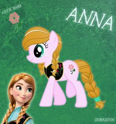 Disney Anna my little pony