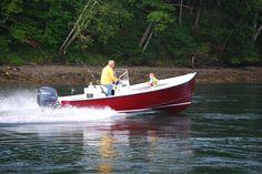 "Seaway ""Sportsman 21-foot.""  A great little bay running fishing boat or tender for a big sportfish boat."