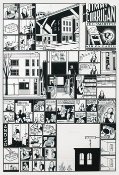 Jimmy Corrigan, the Smartest Kid on Earth by Chris Ware, 1995.