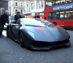 Damnnn! #Lamborghini Sesto Elemento - $3.7m #Hypercar Arrives In London for the 1st time! Hit the pic to see the extra special delivery...