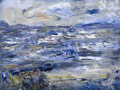 Jack Butler Yeats (irlandais) Queen Maeve Walked upon this Strand Huile sur toile x Gallery Of Modern Art, Art Gallery, Irish Painters, Jack B, Painter Artist, Irish Art, Art Uk, All Art, Oil On Canvas