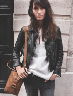 Get to Know Madewell's New Campaign Girl, the Effortlessly Cool Caroline de Maigret