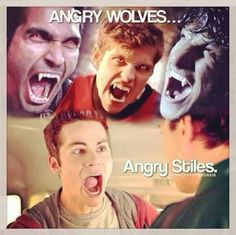 Gawd I love Stiles Stilinski!  Teen Wolf