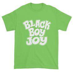 Black Boy Joy Men's Short sleeve t-shirt  #blackbusinessowner #blackliberation #blackownedbusinesses #chocolateancestor #supportblackbusiness #supporttheblackdollar #buyblack #blackentrepreneur #blackgirlmagic #blacklove #shopblack #blacklivesmatter #businessowner #blackownedbusiness #blackpower
