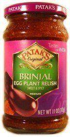 Pataks, Egg Plant Relish Patak's,http://www.amazon.com/dp/B000JSQE0S/ref=cm_sw_r_pi_dp_Xq2itb1FSFJBHCJE