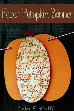 #Silhouette #Pumpkin Banner + Tips I thought this said prayer pumpkin banner.. It didn't, but since we did leaves last year, we may do pumpkins this year??