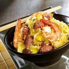 Vietnamese Fried Rice - T-fal Actifry Rice Recipes, Asian Recipes, Cooking Recipes, Healthy Recipes, Ethnic Recipes, Healthy Food, Actifry Recipes, Air Fried Food, Vietnamese Cuisine