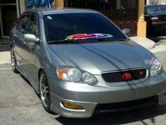 Toyota corolla 2004 tipo s americano full , Santo Domingo Este - 196896 Toyota Corolla, Corolla 2004, Corolla Sport, Carros Toyota, Corolla Altis, Car Mods, Car Wheels, Alice, Cars