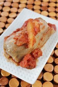 Healthy Girl's Kitchen: Vegan Sweet-n-Sour Superfood Stuffed Cabbage