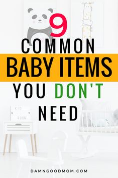 Are there baby items on your baby registry that you don't need? There are common items that new moms buy that should be reconsidered. Learn how to save money on baby products and minimize baby clutter.