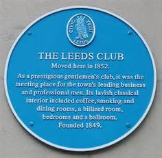 Blue Plaque - Leeds Library - Commercial Street Unveiled on Tuesday ...